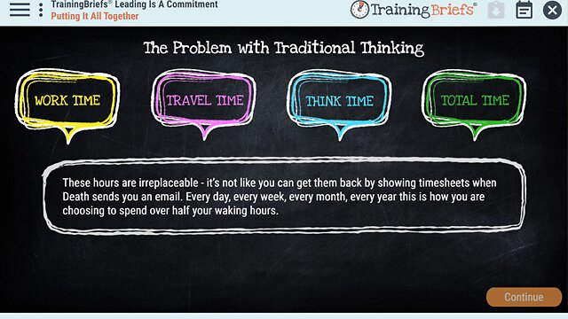 TrainingBriefs™ Leading Is A Commitment
