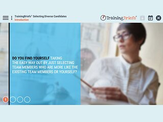 TrainingBriefs™ Selecting Diverse Candidates