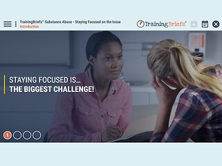 TrainingBriefs™ Substance Abuse - Staying Focused on the Issue