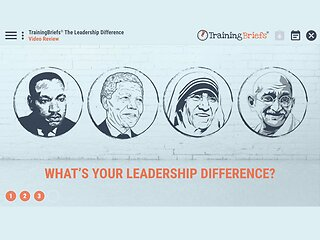 TrainingBriefs™ The Leadership Difference