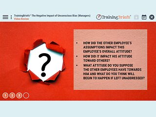 TrainingBriefs™ The Negative Impact of Unconscious Bias (Managers)