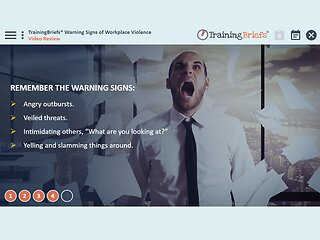 TrainingBriefs™ Warning Signs of Workplace Violence