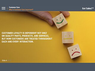 Got Sales?™ Customer Care