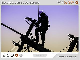 SafetyBytes® Electrical Safety: Using Portable Equipment