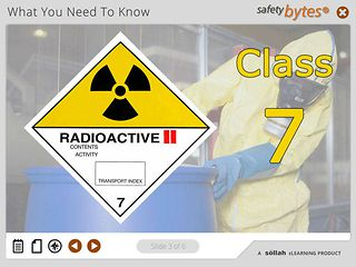 SafetyBytes® - Hazard Class 7 - Radioactive Materials