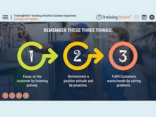 TrainingBriefs™ Creating a Positive Customer Experience
