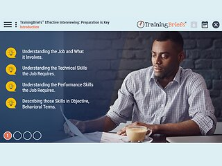 TrainingBriefs™ Effective Interviewing: Preparation is Key